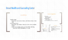 Drexel Health and Counseling Center