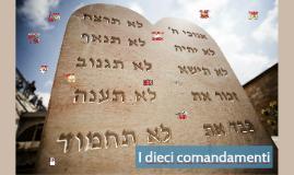 70. I dieci comandamenti. Introduzione