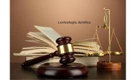 Lexicologia Juridica