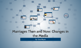 Marriages Then and Now: Changes in the Media