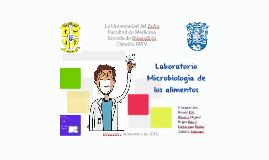 Laboratorio de Microbiología de los alimentos