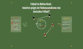 Fußball im Dritten Reich -