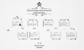 Copy of Copy of Linea de tiempo Historia del arte 1900-1950