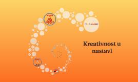 Kreativnost u nastavi
