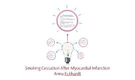 Smoking Cessation After Myocardial Infarction
