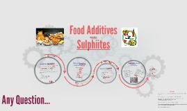 FOOD 3001 (food additives)