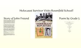 Holocaust Survivor Visits Rosenfeld