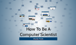 How To Be A Computer Scientist