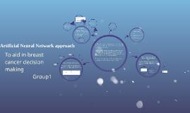 Artificial Neural Network approach