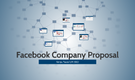 Facebook Company Proposal