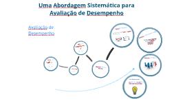 Uma Abordagem Sistemática para Avaliação de Desempenho