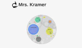 Copy of Copy of Mrs. Kramer