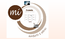 Workshop - Evenementen organiseren