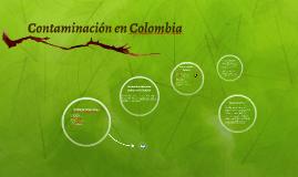 Contaminaciòn en Colombia