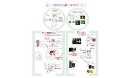 AP Bio- Hormonal Control