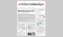 The Effects of the Miniumum Wage