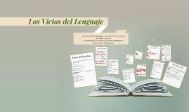 Copy of Los Vicios del Lenguaje
