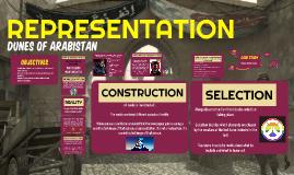 REPRESENTATION: Games Development