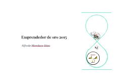 emprendedor de oro 2015