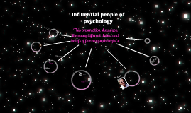 Copy of influential people of psychology
