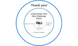 12.08 Create Your Own Challenge Exam