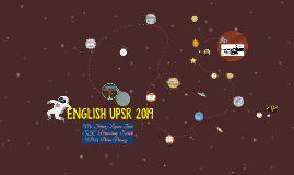 Copy of ENGLISH UPSR 2017