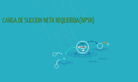Copy of CARGA DE SUCCION NETA REQUERIDA(NPSH)
