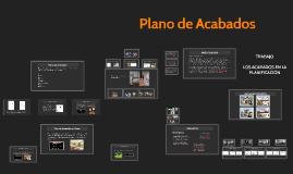 Copy of Sistemas Constructivos II Plano de Acabados