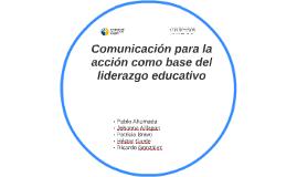 Comunicación y Transformación de las organizaciones.
