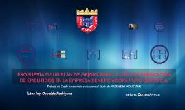 PLAN DE MEJORAS EMPRESA PURO CERDO C.A.
