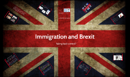 Brexit and immigration