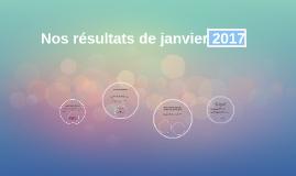 Nos résultats de janvier