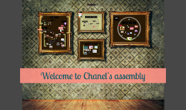 Welcome to Chanel's assembly