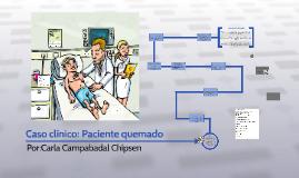 Caso clínico: Paciente quemado