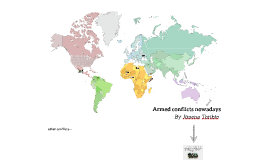 Armed conflicts nowadays