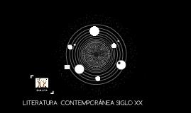 LITERATURA  CONTEMPORANEA SIGLO XX
