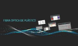 FIBRA OPTICA DE PLASTICO