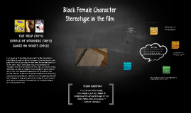 Black Female Stereotype in the film