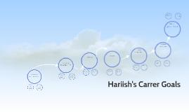 Hariish's Carrer Goals