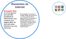 Elementos de Internet