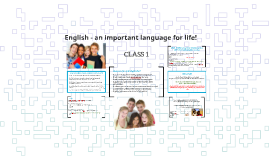English - an important language for business!