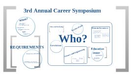 3rd Annual Career Symposium