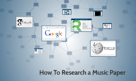 How To Research a Music Paper