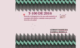 T-100 DE 2016