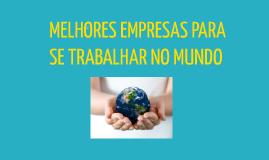 MELHORES EMPRESAS PARA