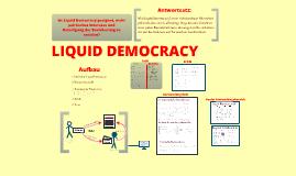 Ist Liquid Democracy geeignet, mehr politisches Interesse und Beteilligung der Bevölkerung erzielen?