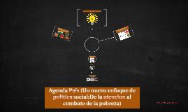 Agenda Pais (Un nuevo enfoque de politica social:De la atenc