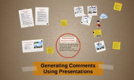 Copy of Generating Comments Using Presentations
