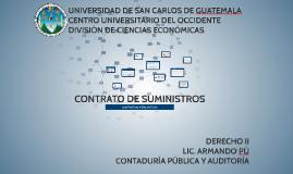 CONTRATO DE SUMINISTROS