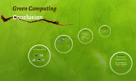 conclusion of green computing